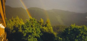 Double Rainbow in Brasov, Romania