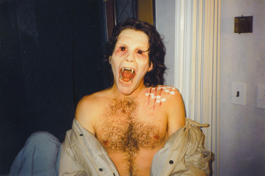 X Files: Shapes - Ty Miller werewolf transformation. Toby Lindala FX makeup